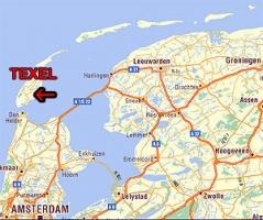 ostrov Texel v Holandsku